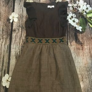 Tibi Brown Dress    -161